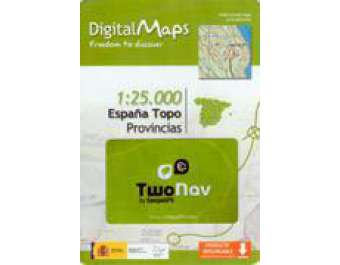 Mapa Digital Twonav Provincias